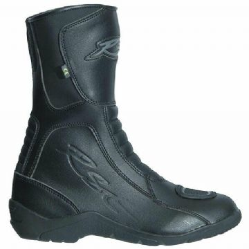 RST 1696 Tundra Waterproof CE Leather Motorcycle Motorbike Boots - Black